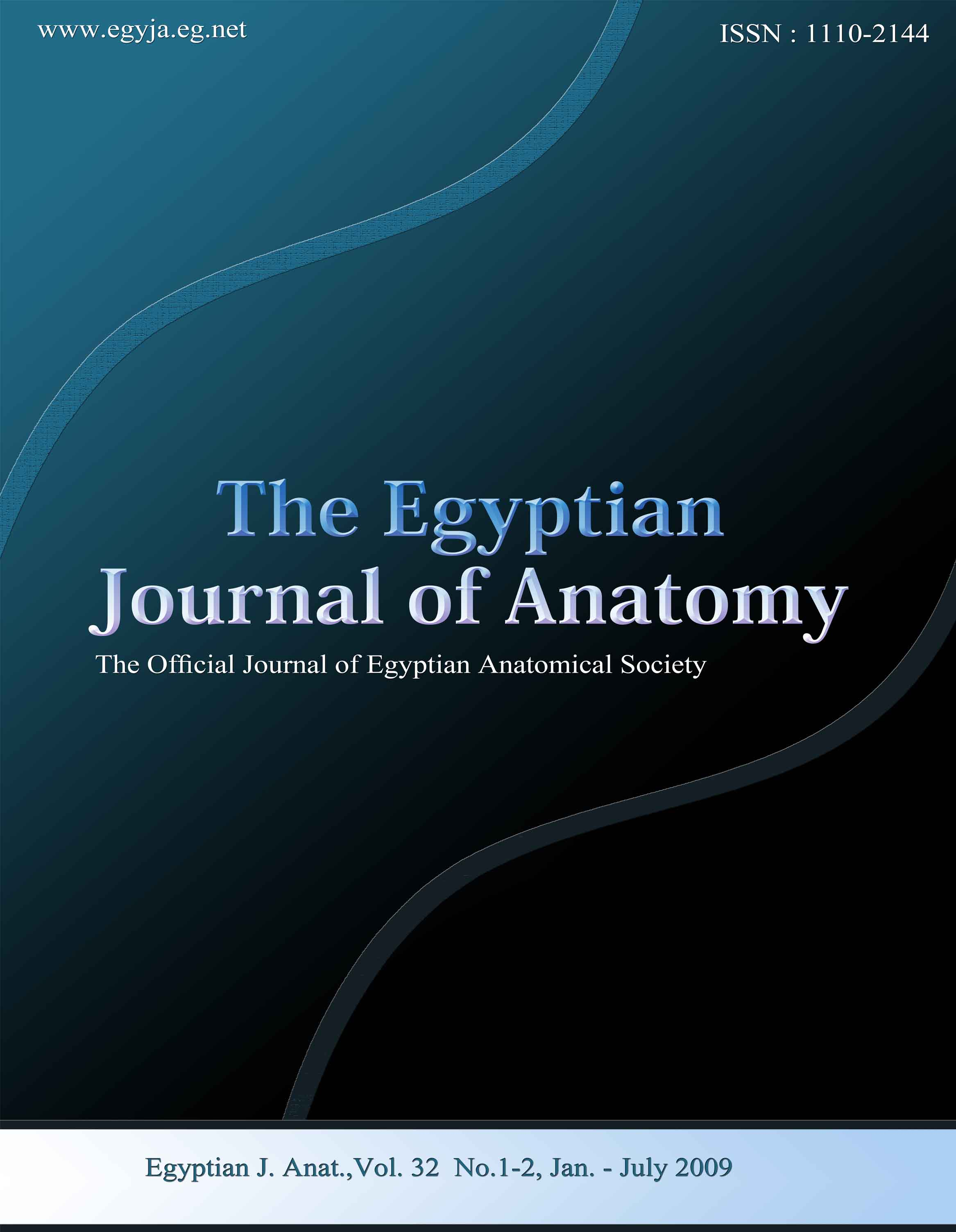 The Egyptian Journal of Anatomy